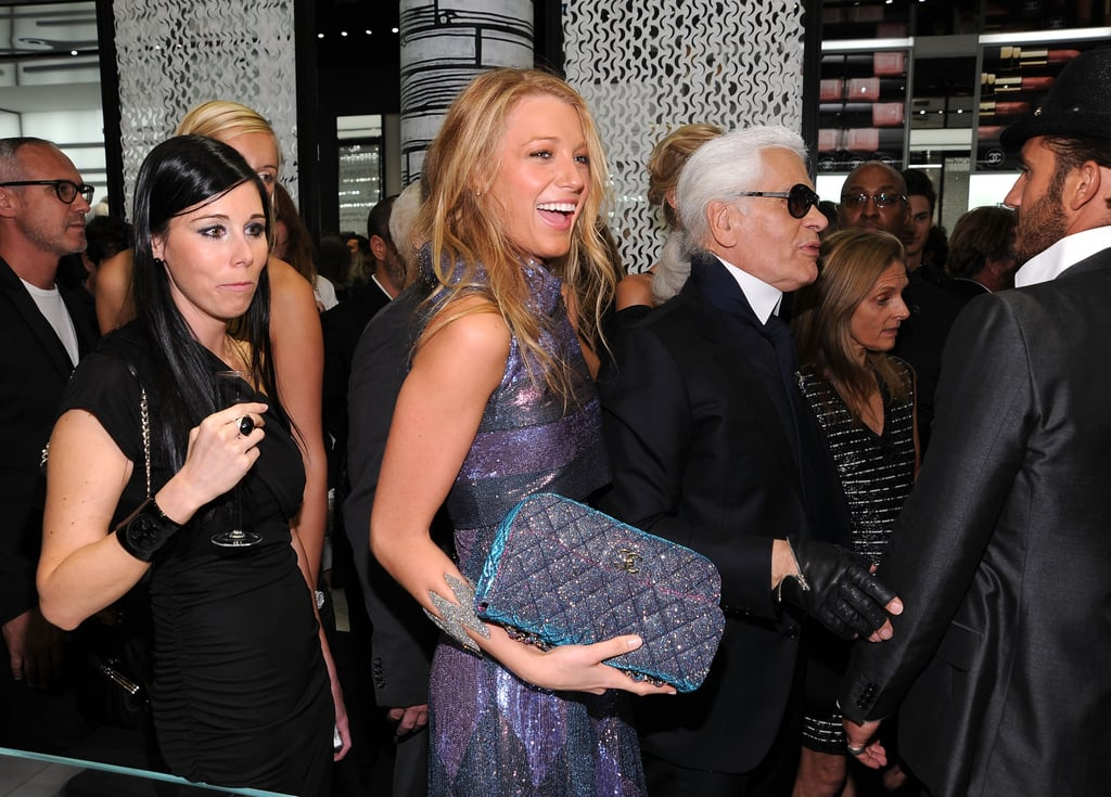 New York Treated to a Karl Lagerfeld Appearance at Chanel's Soho Store Re-Opening Last Night