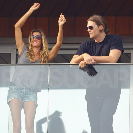 Pictures of Tom Brady and Gisele Bundchen Kissing and Partying at Carnival