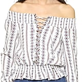 Moon River Off Shoulder Blouse ($70)