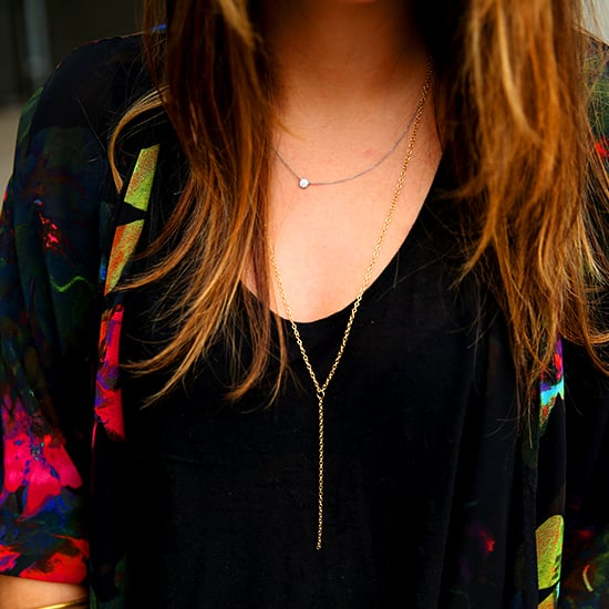 DIY Delicate Gold Necklace | Video