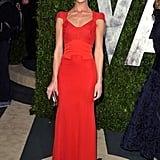 Rosie kept her look simple and let this red-hot Antonio Berardi dress do the talking when she attended the Vanity Fair Oscar Party in 2012.
