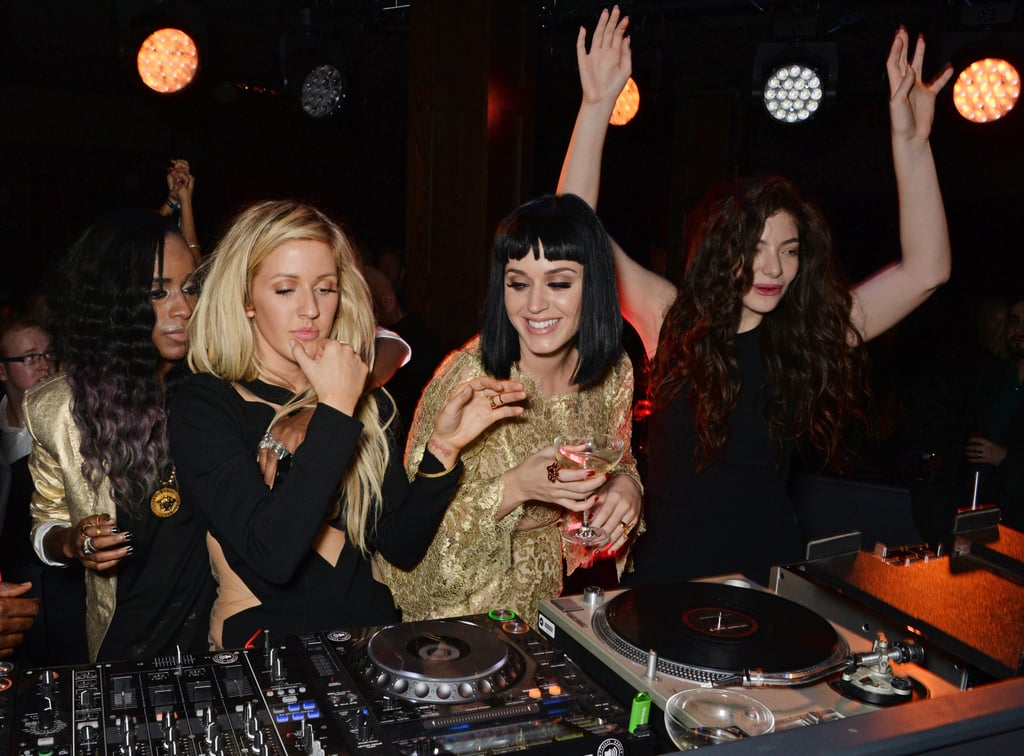 Katy Perry, Lorde, and Ellie Goulding DJed together at the Brit Awards, and it was glorious.