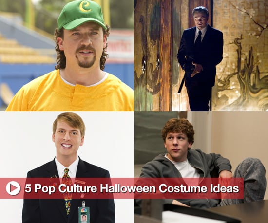 Pop Culture Halloween Costume Ideas For Men, Including Kenny Powers, Inception, 30 Rock, Mark Zuckerberg, and Joaquin Phoenix