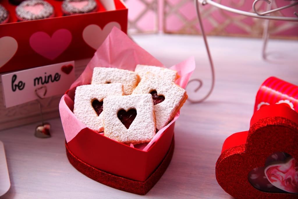 red heart treat box