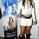 On the Red Carpet For Maid in Manhattan in Paris in February 2003