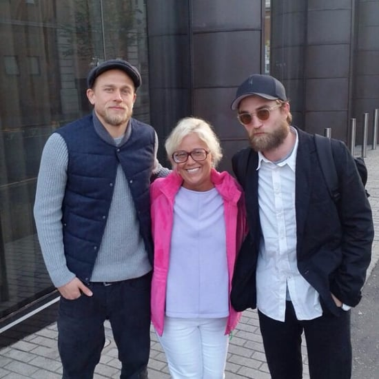 Robert Pattinson and Charlie Hunnam Pose For Fan Photo