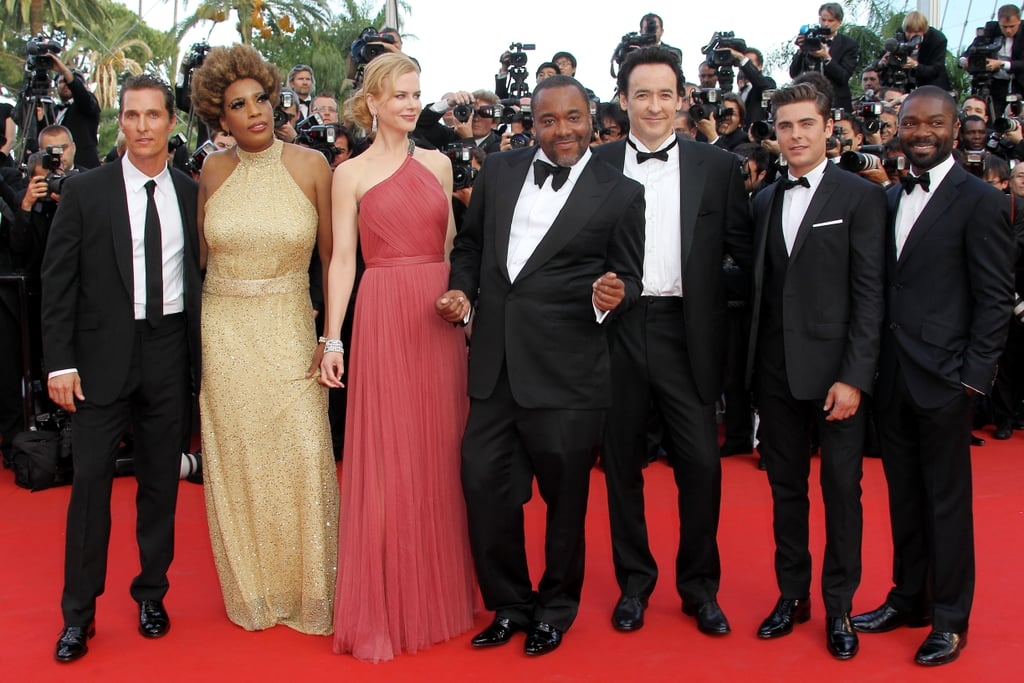 Lee Daniels posed with his cast at the premiere of The Paperboy in Cannes.