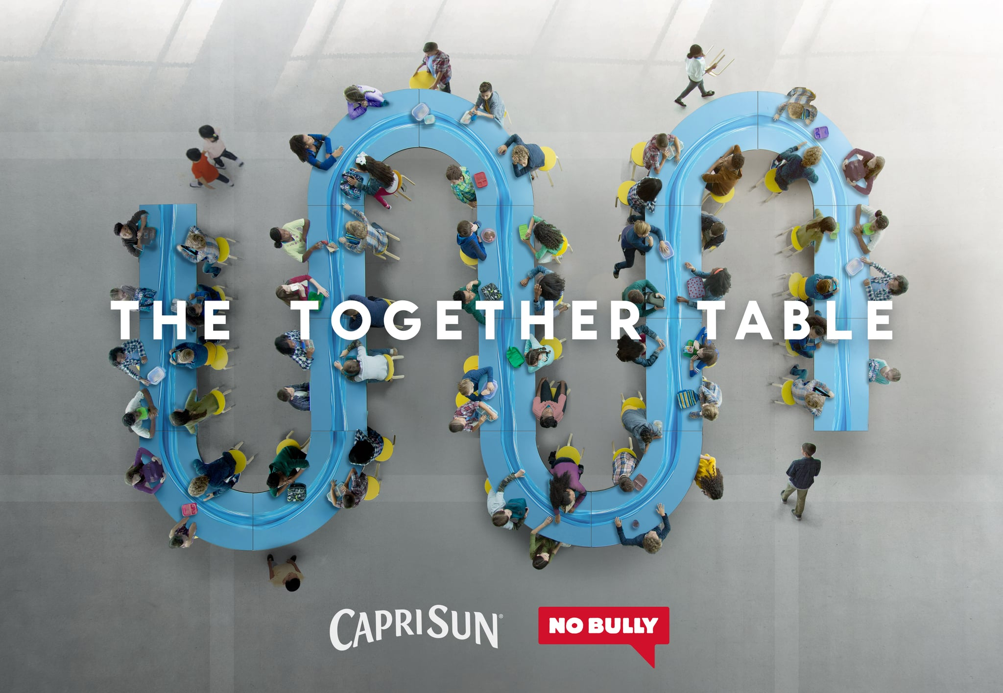 The Together Table Is the Ideal Way to Guarantee No Kid Sits Alone at Lunchtime
