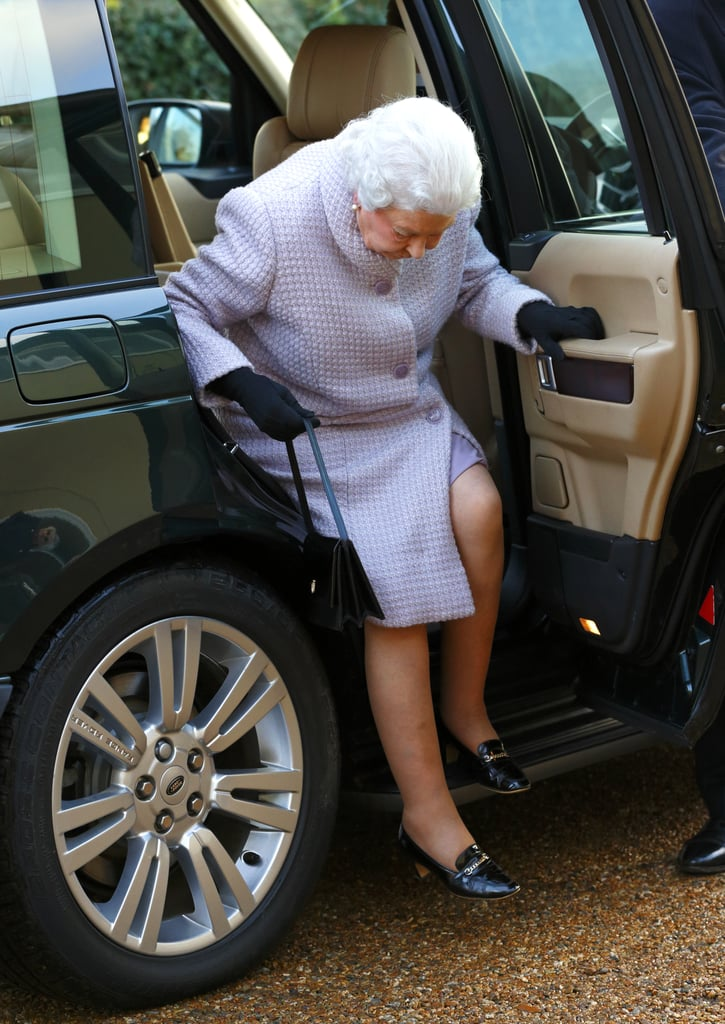 Least: When She Showed Leg Getting Out of a Car