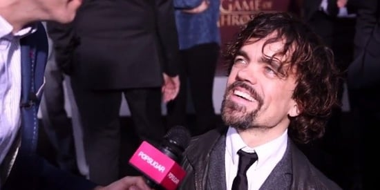 Peter Dinklage Spills A Major 'Game Of Thrones' Spoiler