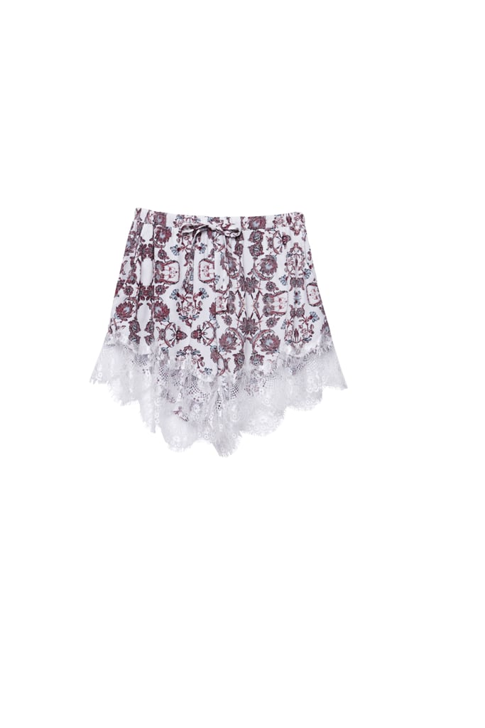 Kendall and Kylie x PacSun Scallop Lace Shorts