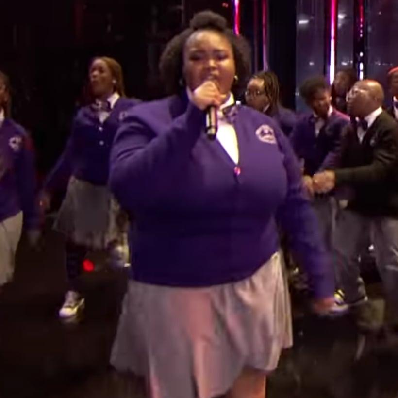 Detroit Youth Choir Singing