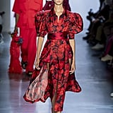Puffy Sleeves on the Prabal Gurung Runway at New York Fashion Week