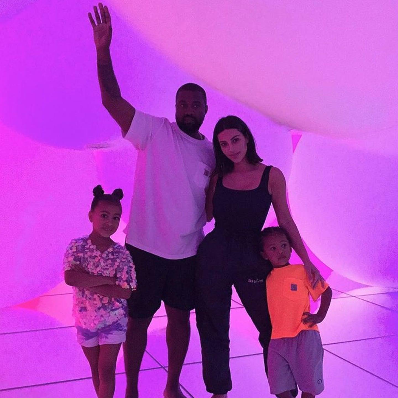 Kim Kardashian and Kanye West With Kids in Japan 2019 | POPSUGAR UK Parenting