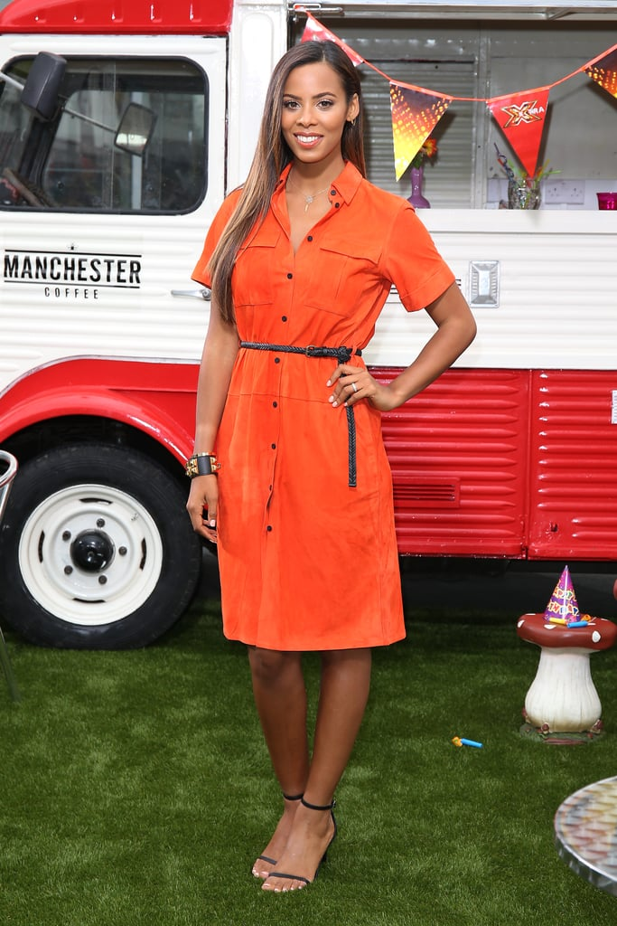 Rochelle Humes Celebrities In Red Dresses For Valentine S Day Popsugar Fashion Uk Photo 25