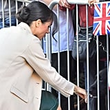 Meghan Markle's Gabriela Hearst Bag October 2018