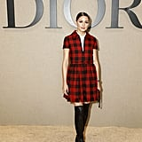 Olivia Palermo at the Dior Paris Fashion Week Show