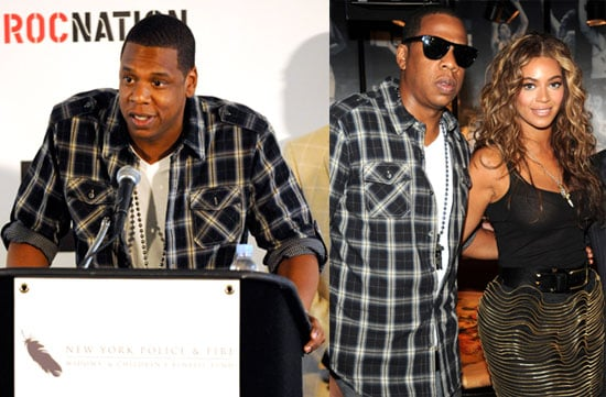 "Photos of Jay-Z and Beyonce Announcing His ""Answer the Call"" Concert, Attending a Grizzly Bear Concert at McCarren Park Pool"