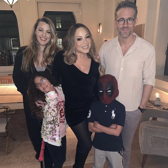 Mariah Carey and Kids Meet Blake Lively and Ryan Reynolds