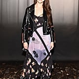Selena attended the Coach runway show during New York Fashion Week in February. To no one's surprise, the singer wore the designer label from head-to-toe. She has a handbag collab with the brand and has plans to expand the partnership to clothes.