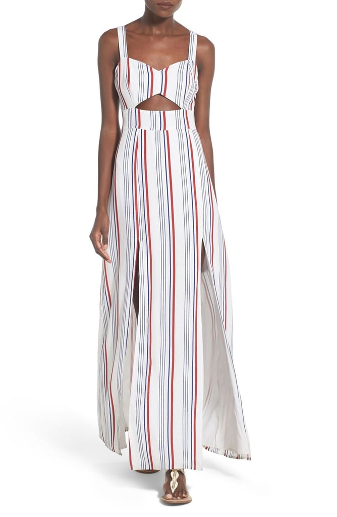 Tularosa 'Toni' Stripe Maxi Dress ($180)