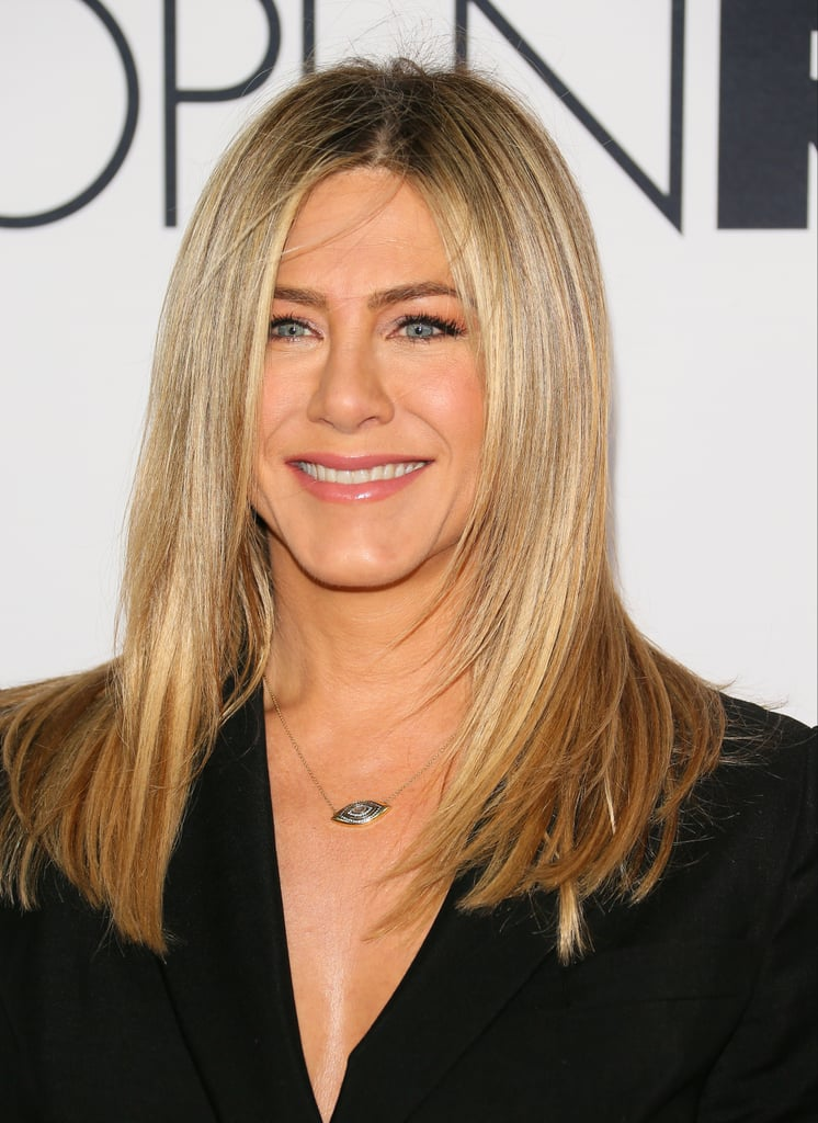 Jennifer Aniston With Face-Framing Highlights