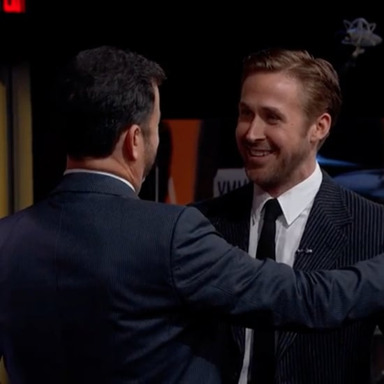Ryan Gosling's Waltz Dance With Jimmy Kimmel Video 2016