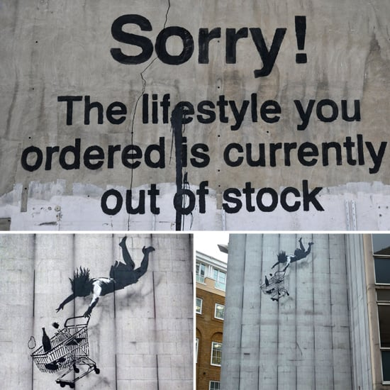 Banksy Sends Us a Holiday Message