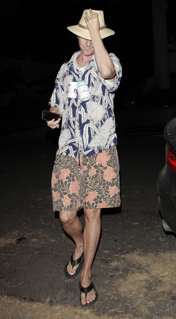 Ed Norton dressed up for a bash in LA on Friday.