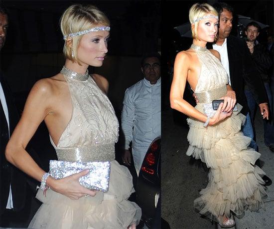 Photos of Paris Hilton, Who Won 3 Razzies, Out in LA