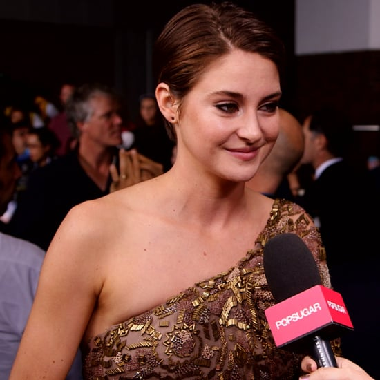 Shailene Woodley Interview at Divergent Premeire | Video