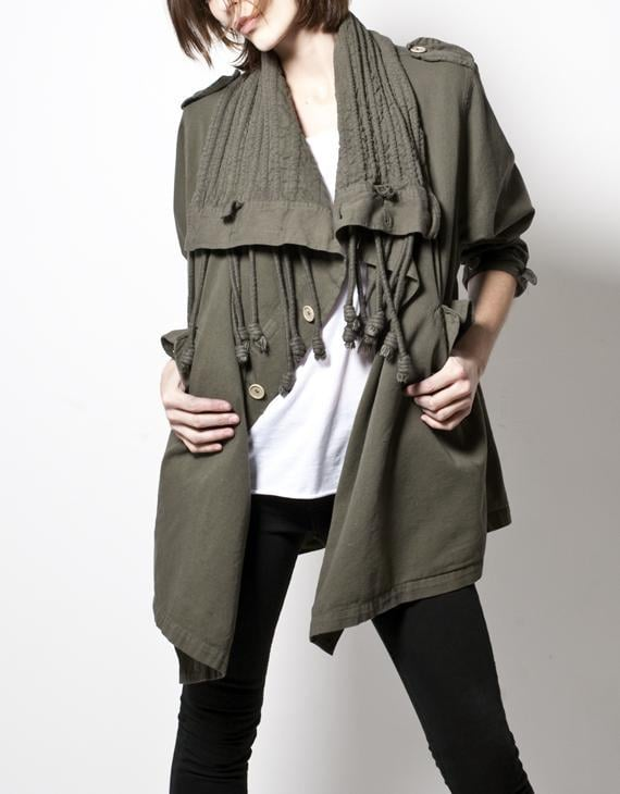 Trend Talk: Military Style
