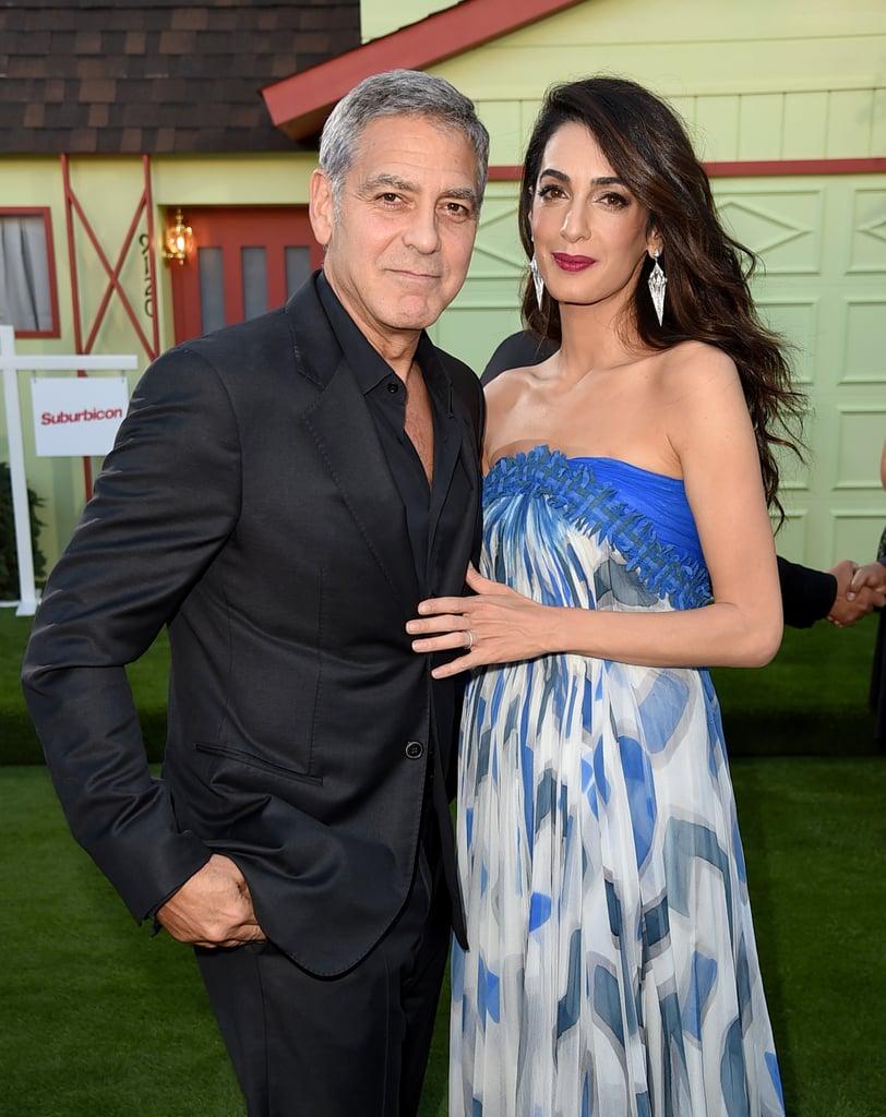 Amal Clooney | New Celebrity Moms 2017 | POPSUGAR ...