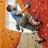 Go rock climbing. Check your local rock climbing facility or sports equipment store for details.