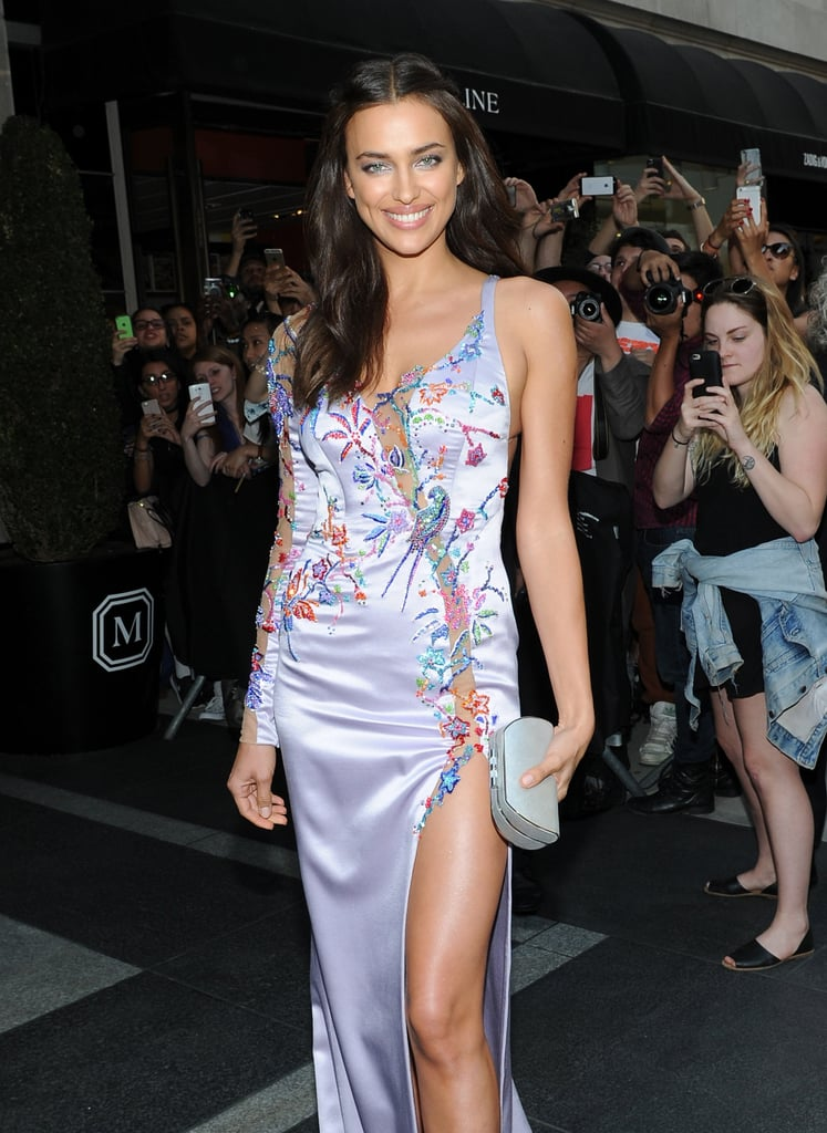 Irina Shayk Celebrity Red Carpet Arrivals Pictures At