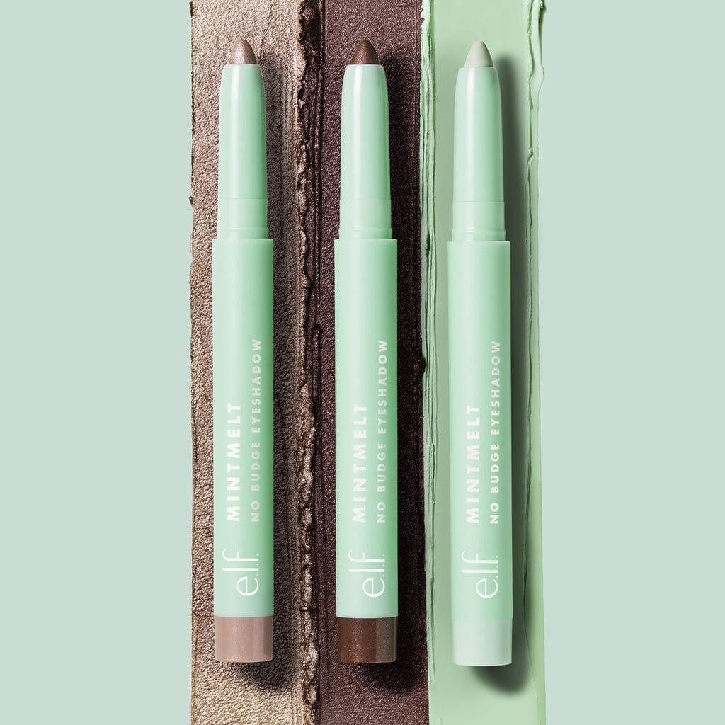 e.l.f. Cosmetics Mint Melt No Budge Eyeshadow Stick in Ice Créme