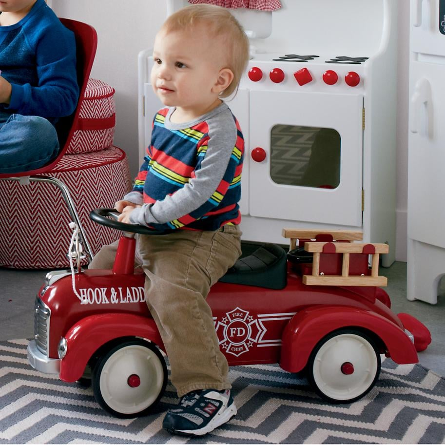For 2-Year-Olds: Ride On Firetruck