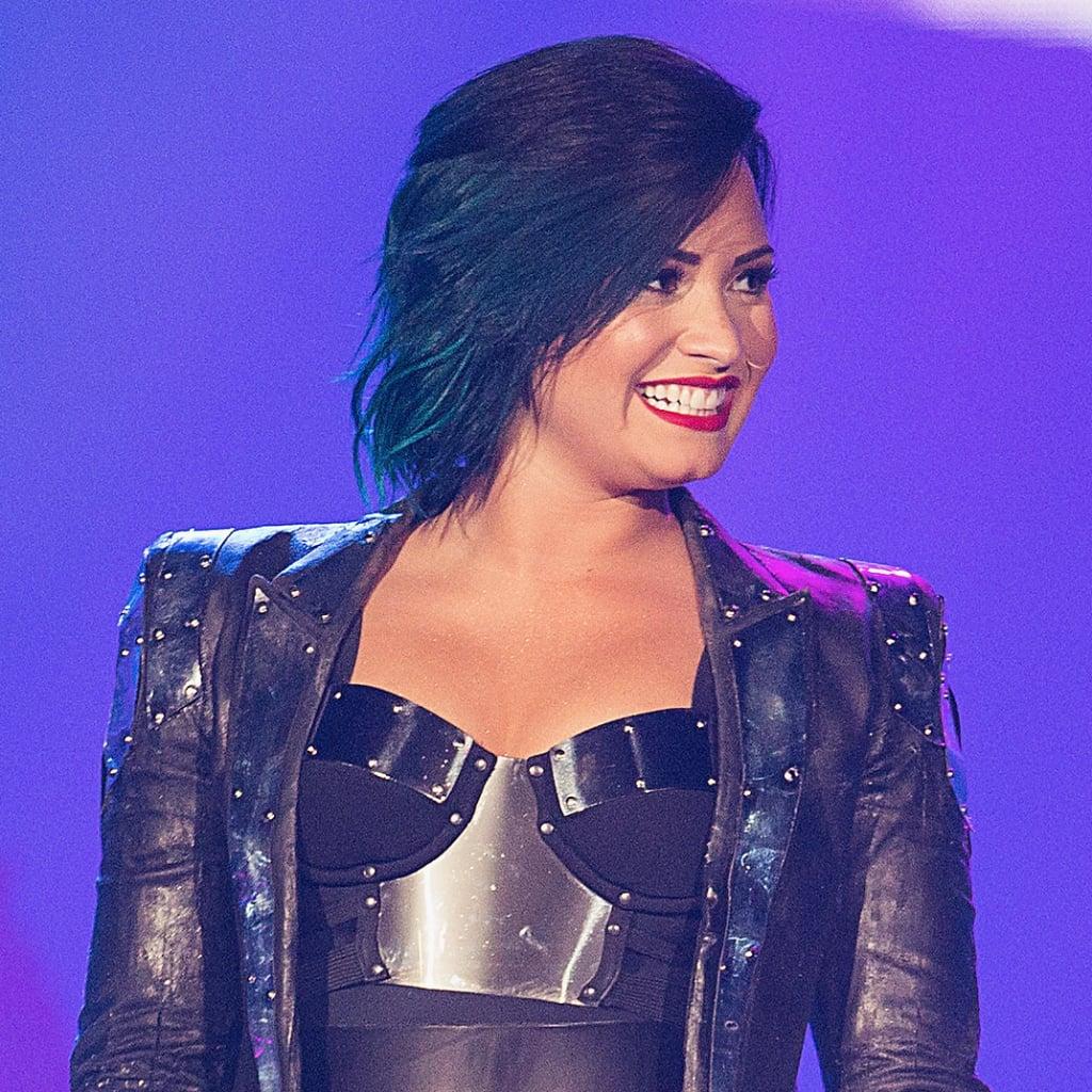 Demi Lovatos Hair Color Evolution Popsugar Beauty