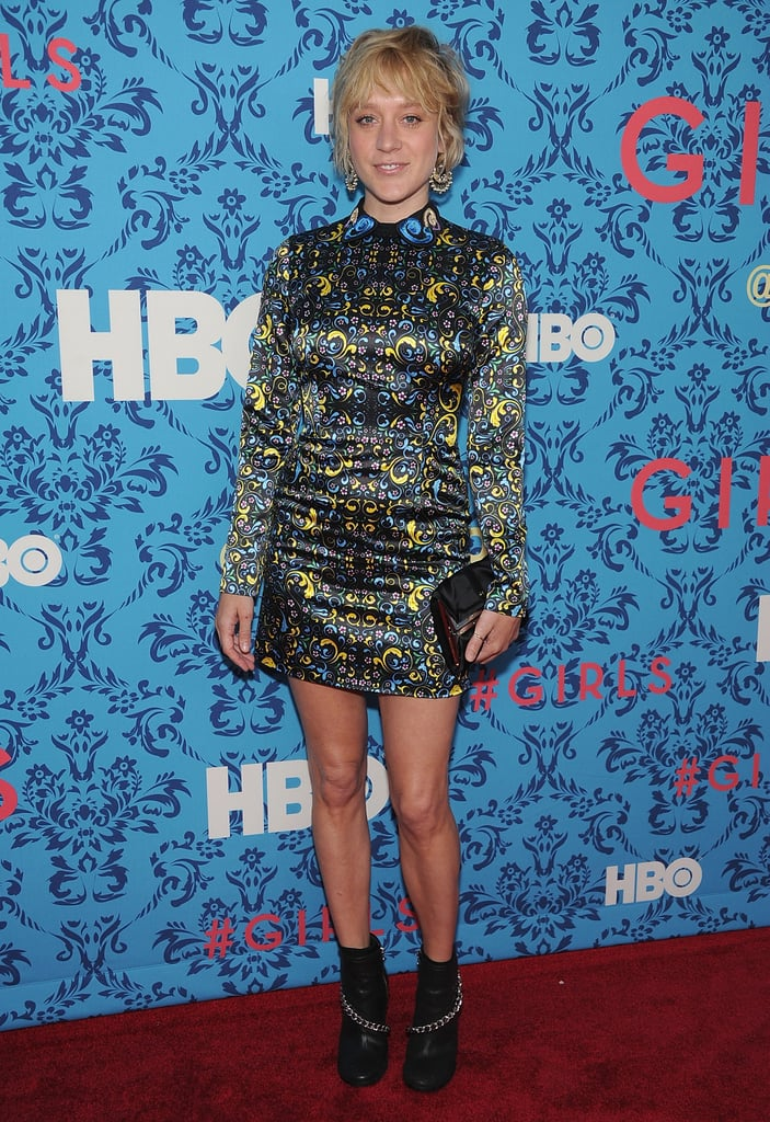 Chloe Sevigny posed at the premiere of HBO's Girls in NYC.
