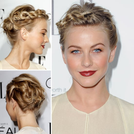 Get Julianne Hough S Braided Bun From The Elle Women In Hollywood