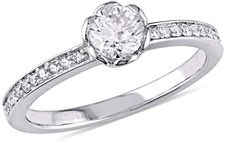Delmar Jewelers Round Diamond Engagement Ring