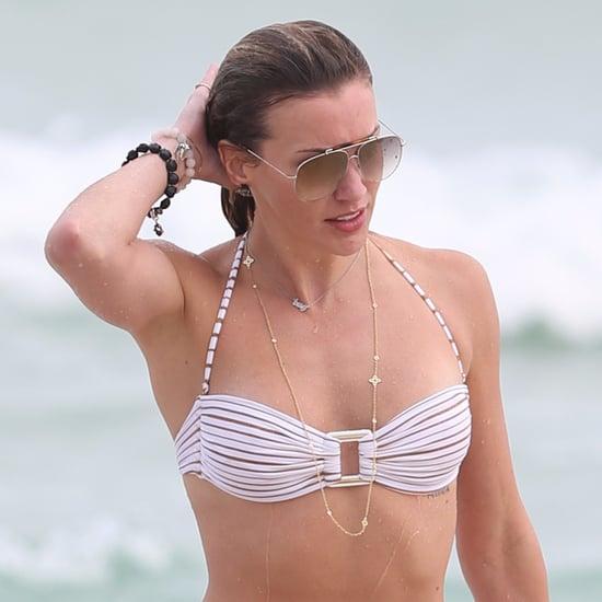 Katie Cassidy Bikini Photos December 2015