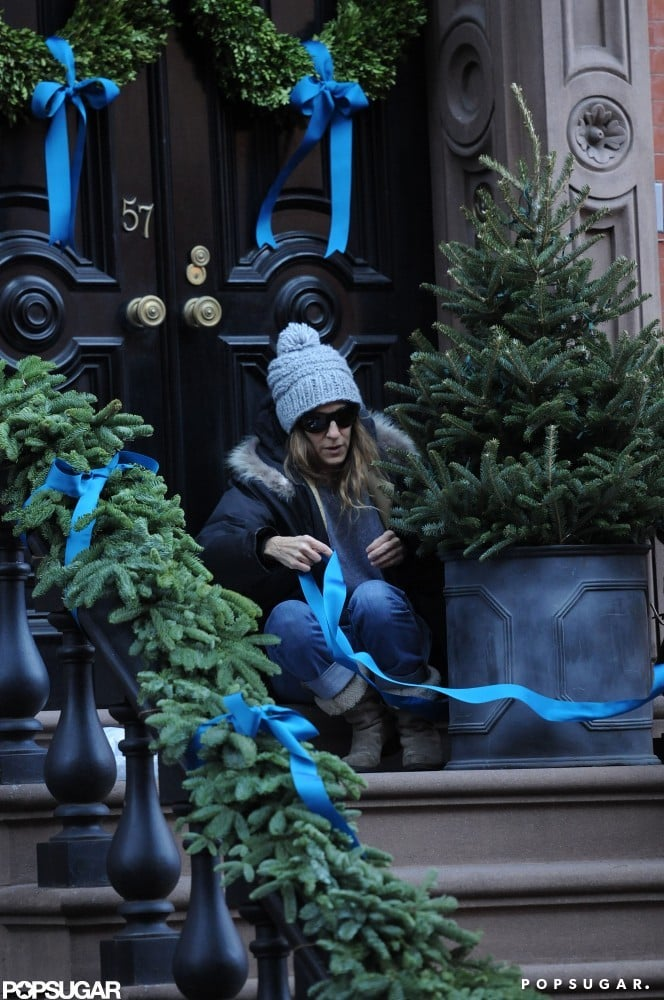 Sarah Jessica Parker decorated her home.