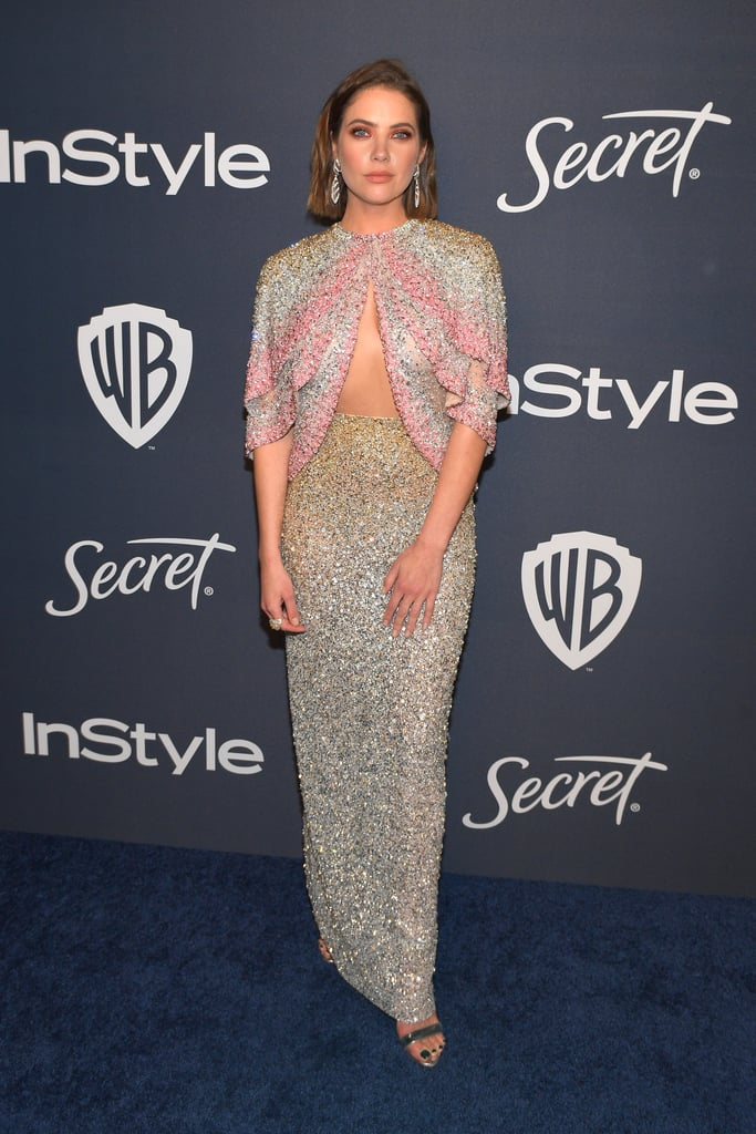 Ashley Benson at the 2020 Golden Globes Afterparty