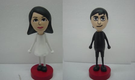 MiiSculptures Will Make Wii Miis For Your Wedding Cake Topper