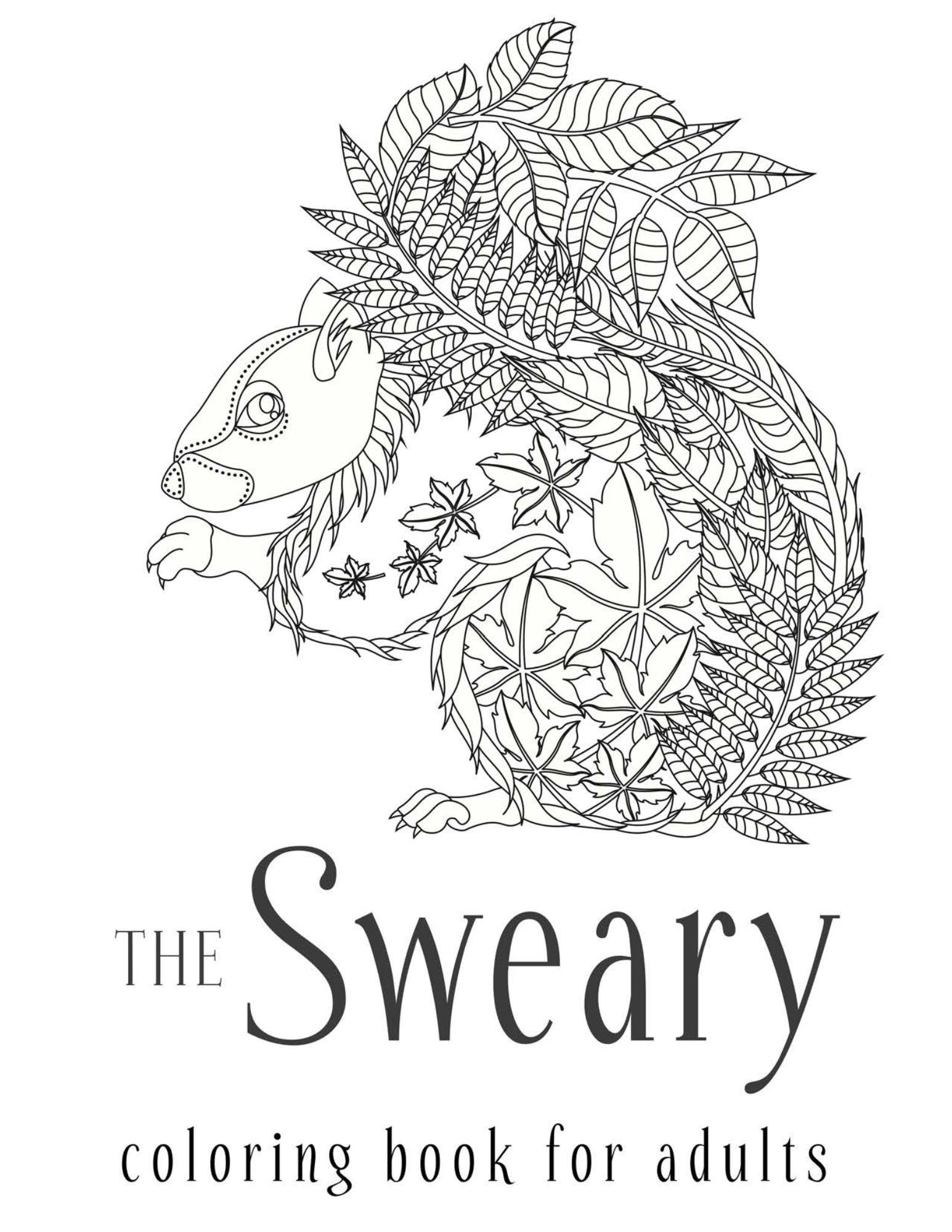 Sweary Coloring Book Adults