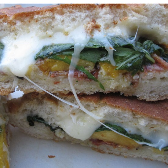 Grilled Peach and Pancetta Sandwich Recipe