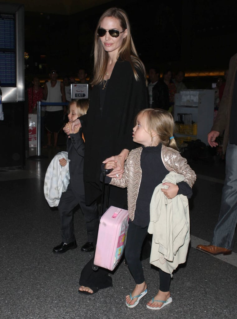 Watch Out World: Angie and Her Whole Brood Take Flight
