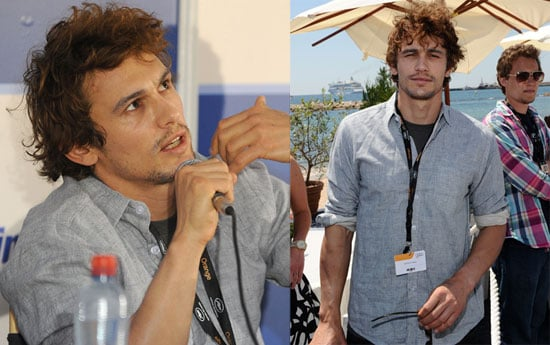 Pictures of James Franco Out During The 2010 Cannes Film Festival