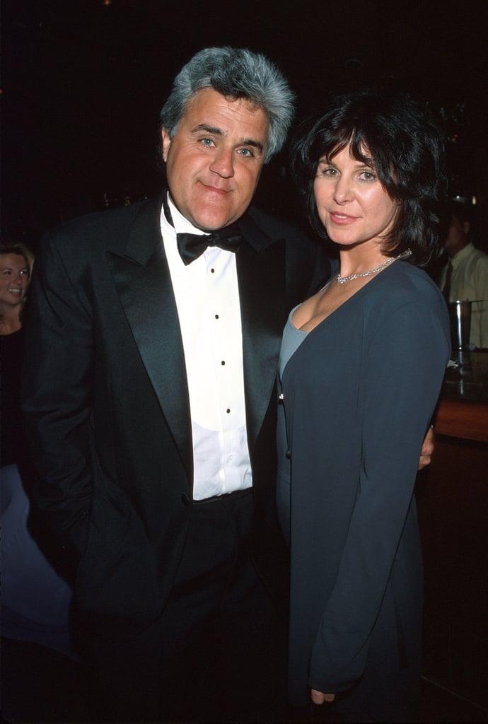 Jay And Mavis Leno Celebrity Couples At The 1998 Oscars